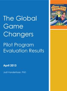 GGC Evaluation Front Page