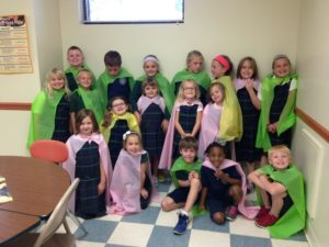 All of the children that participate in the GGC Program at St.Raphael School!