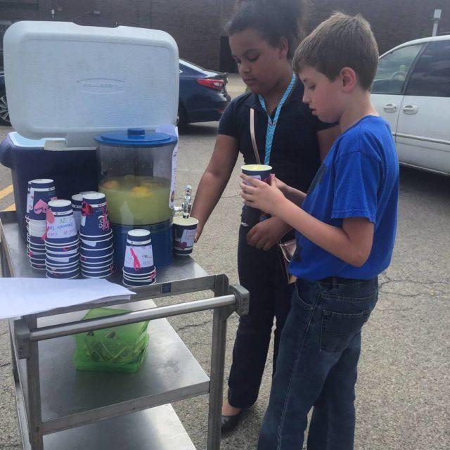 Klondike Elementary ymcalouisville CEP Superheroes and their outdoor mobile lemonadedaylouhellip