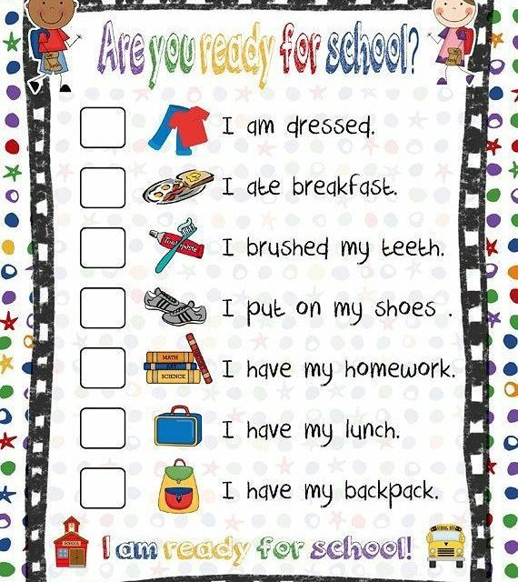 A handy checklist for getting back in the school dayhellip