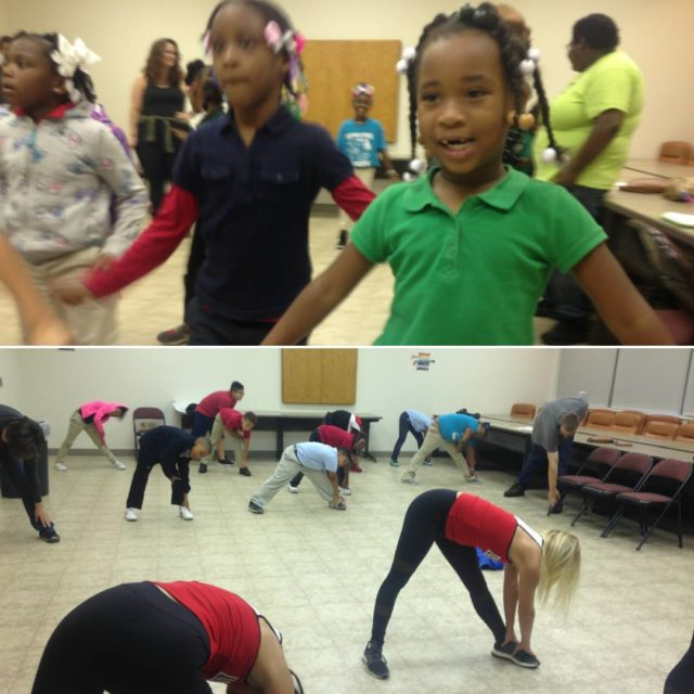 The awesome louisvilleladybirds got everyone moving and grooving for Healthhellip