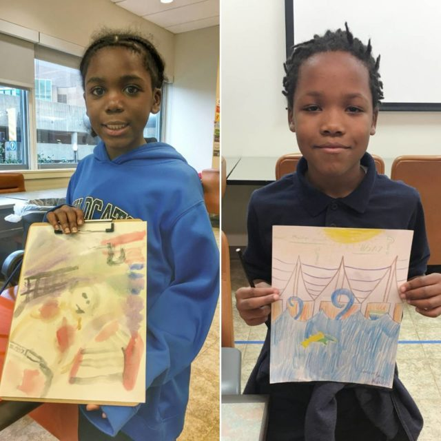 Same subject unique results! Art encourages kids to have confidencehellip