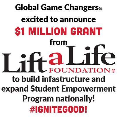 EXCITING NEWS Global Game Changers is super excited to announcehellip