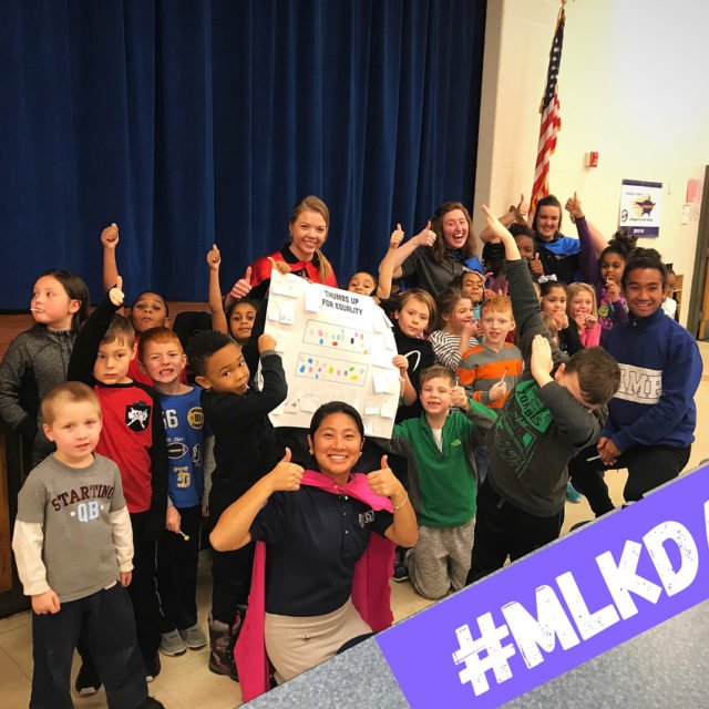 We had a blast celebrating MLKDay with the amazing superheroeshellip